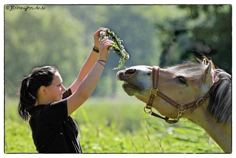 Anna rettet einen Hengst vor dem Schlachter